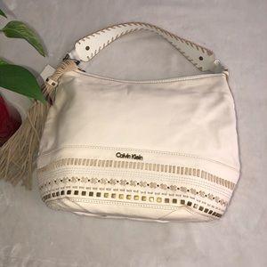 Calvin Klein Pebble tassel Hobo Bag